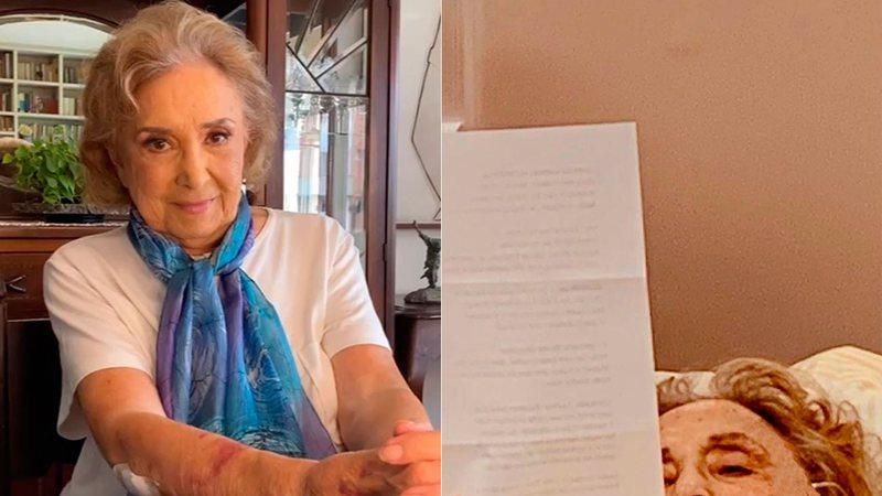 """Na UTI, Eva Wilma grava participação em filme e tranquiliza fãs: """"O show tem que continuar"""""""