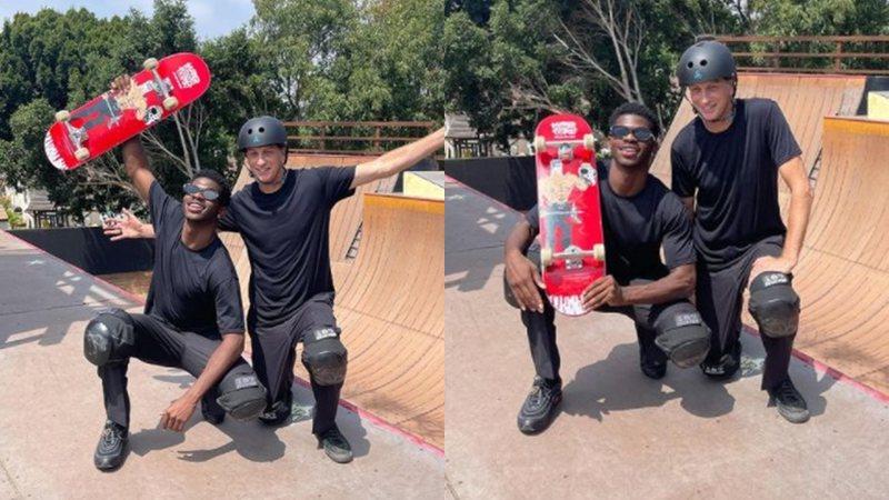 Lil Nas X e Tony Hawk