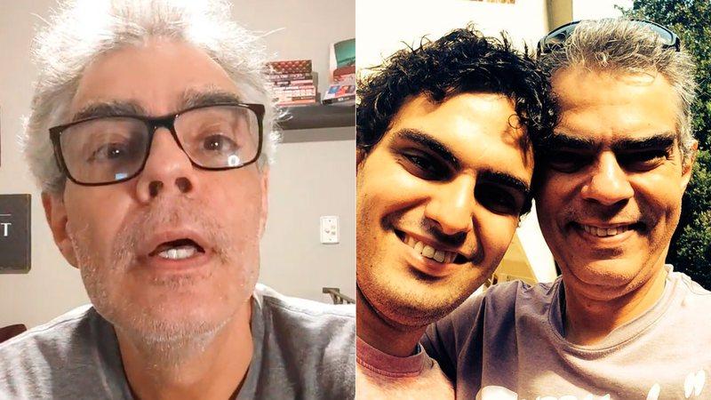 """Cenapop · Nizo Neto lembra os cinco anos da morte do filho e lamenta:  """"Tomou Ayahuasca e pirou"""""""