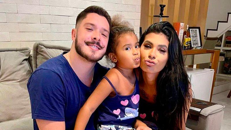 Marido de Pocah, Ronan Souza diz ter identificado responsáveis por ataques à filha da funkeira