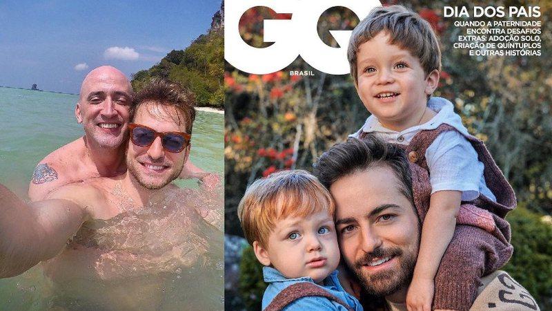 Thales é capa da GQ, da Globo, do mês de agosto
