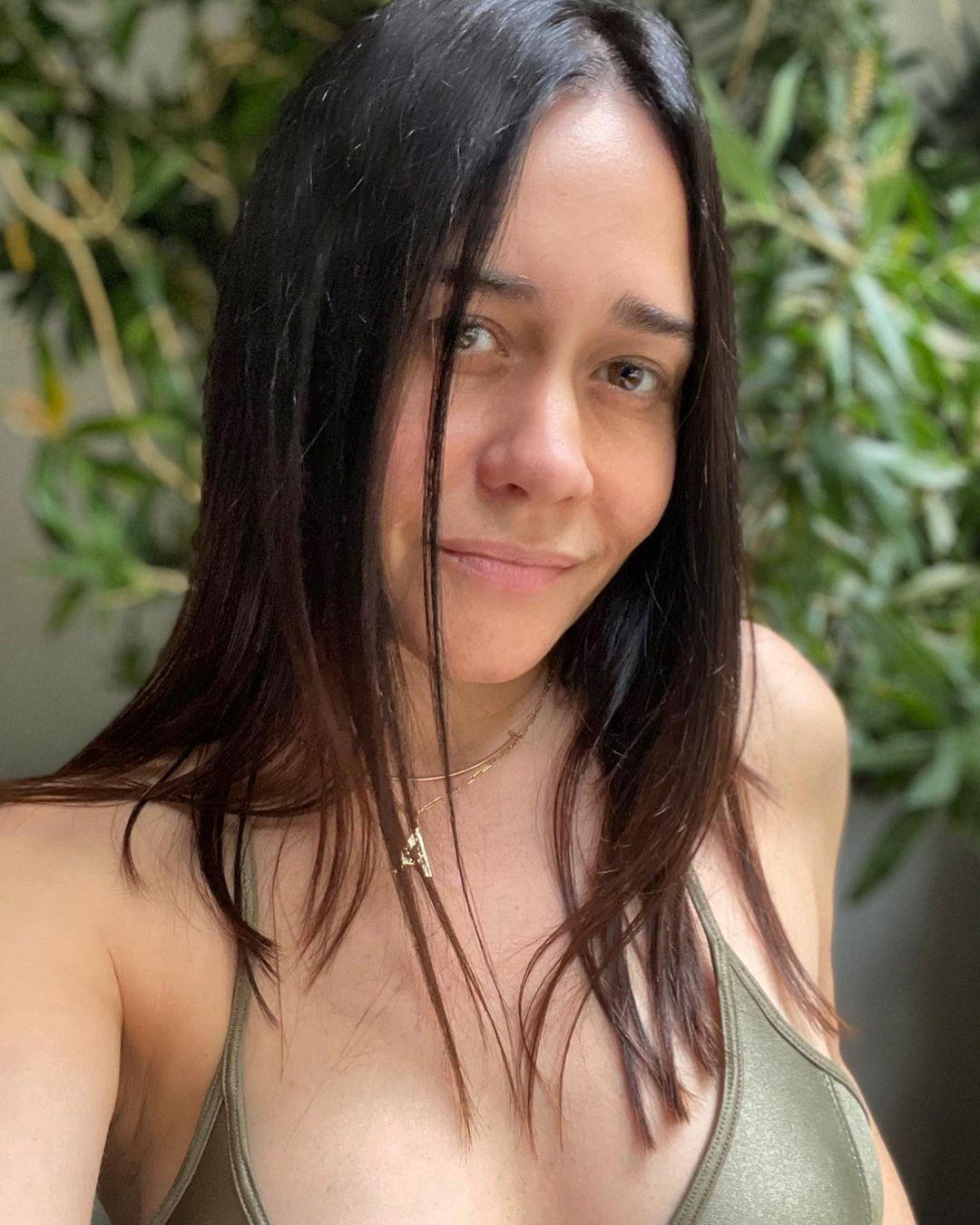 Alessandra Negrini mostrou treino e foi elogiada na web