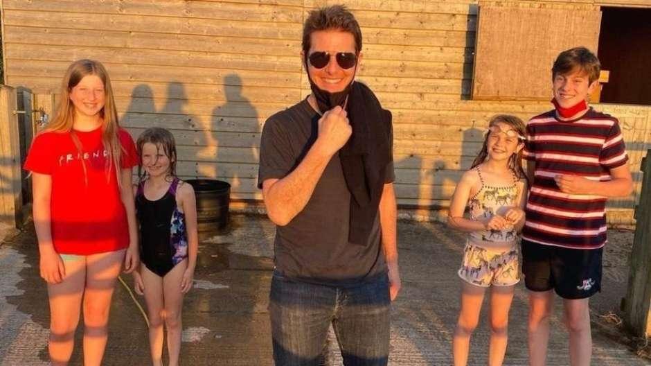 Família de Alison Webb recebe Tom Cruise em sua casa - Foto: Reprodução/Instagram