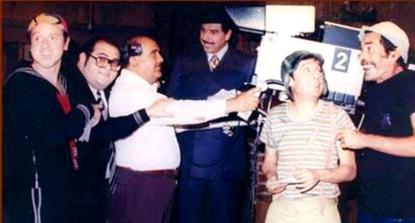 Fotos raras do Chaves, Chapolin e Chespirito - Foto: Divulgação/ Televisa