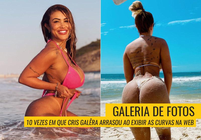 Cris Galera posou para a revista Sexy