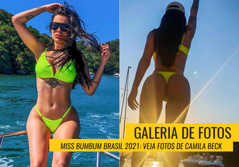 Camila Beck, Miss Bumbum Tocantins
