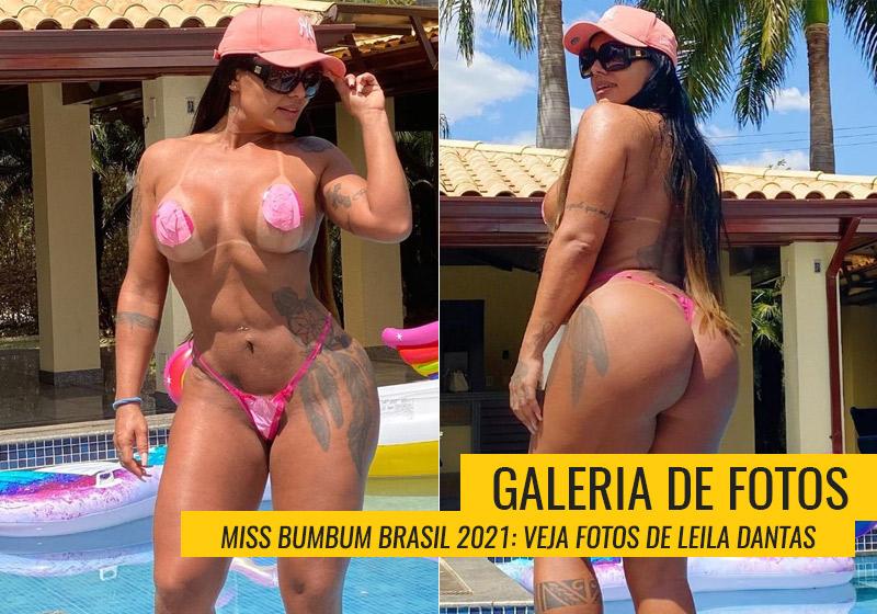 Leila Dantas, Miss Bumbum Piauí