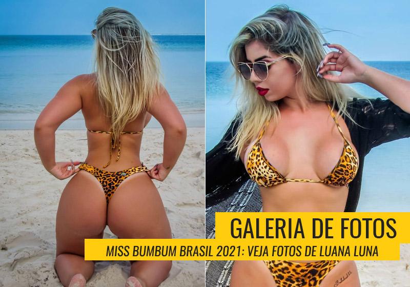 Luana Luna, Miss Bumbum Mato Grosso