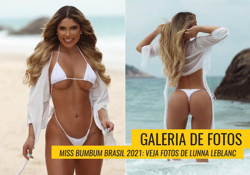 Lunna Leblanc, Miss Bumbum Minas Gerais