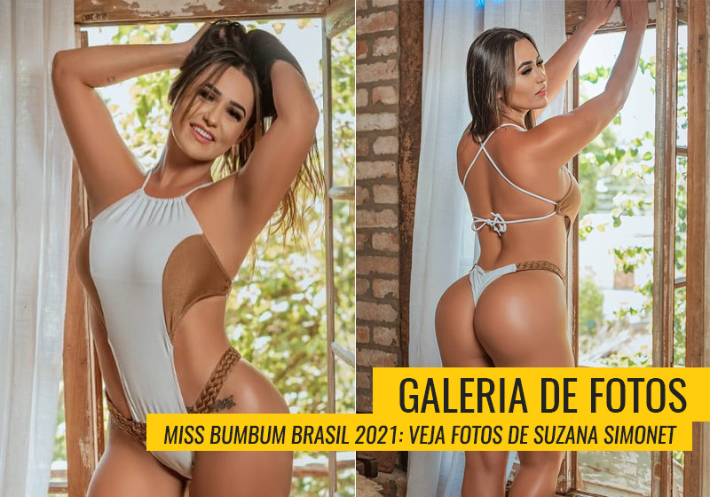 Suzana Simonet, Miss Bumbum Santa Catarina
