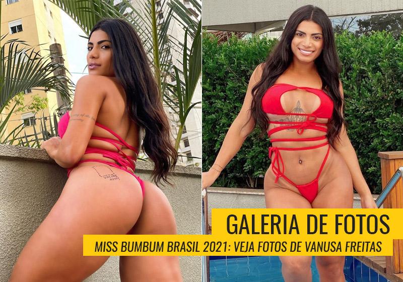 Fotos da Miss Bumbum Vanusa Freitas