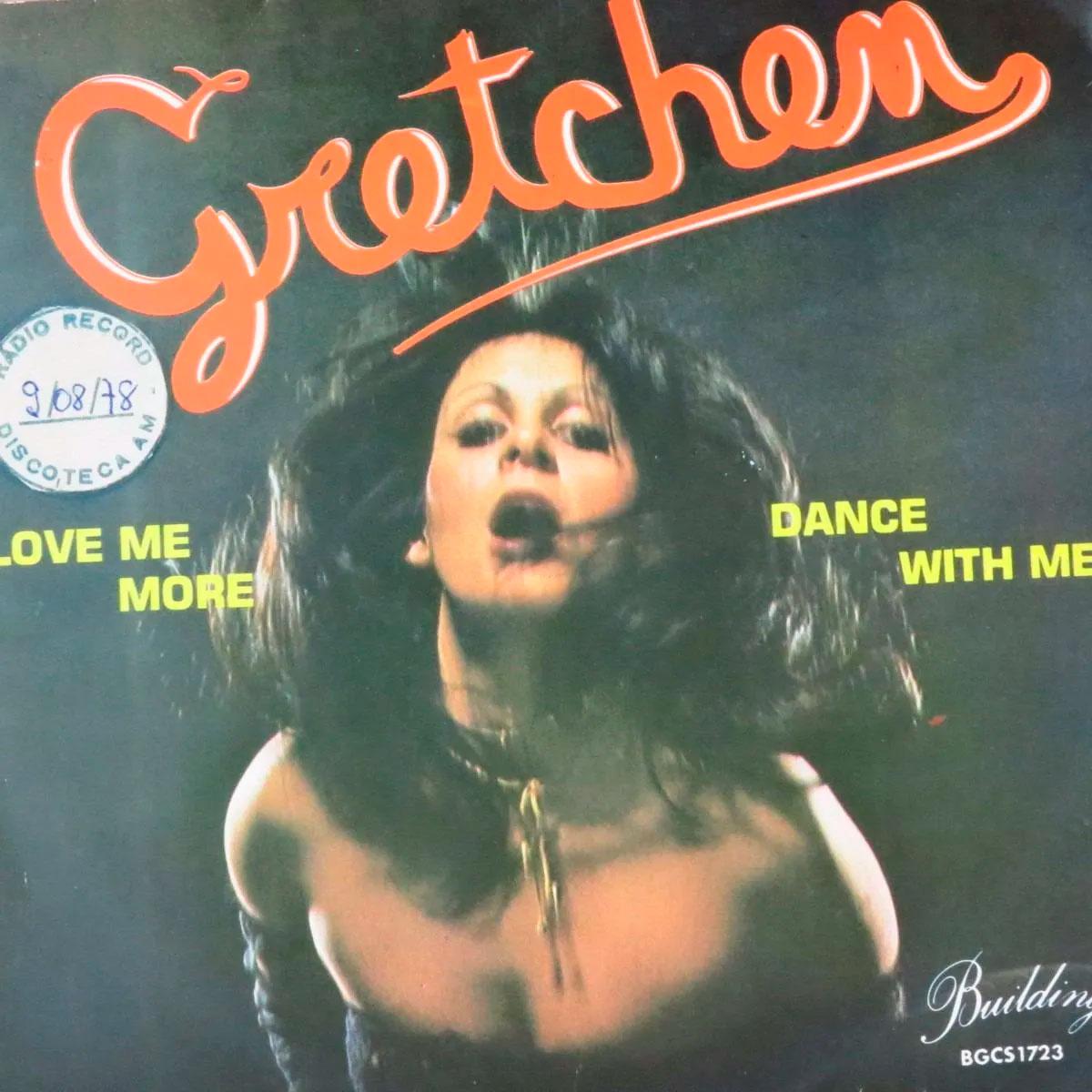Capa do compacto Dance With Me, da Gretchen