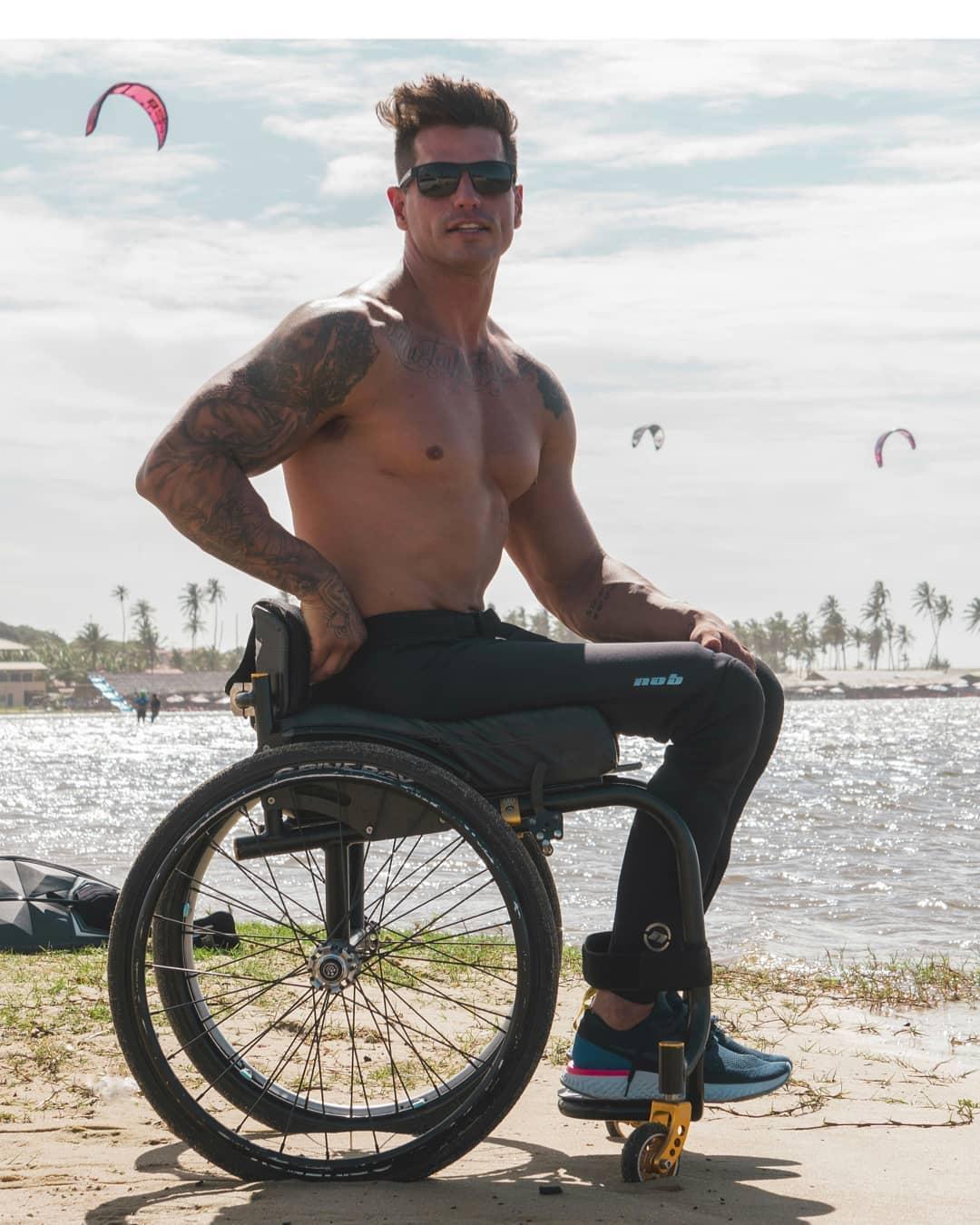 """Cenapop · """"Redescobri o sexo 15 dias após ficar paraplégico"""", diz ex-BBB Fernando  Fernandes"""