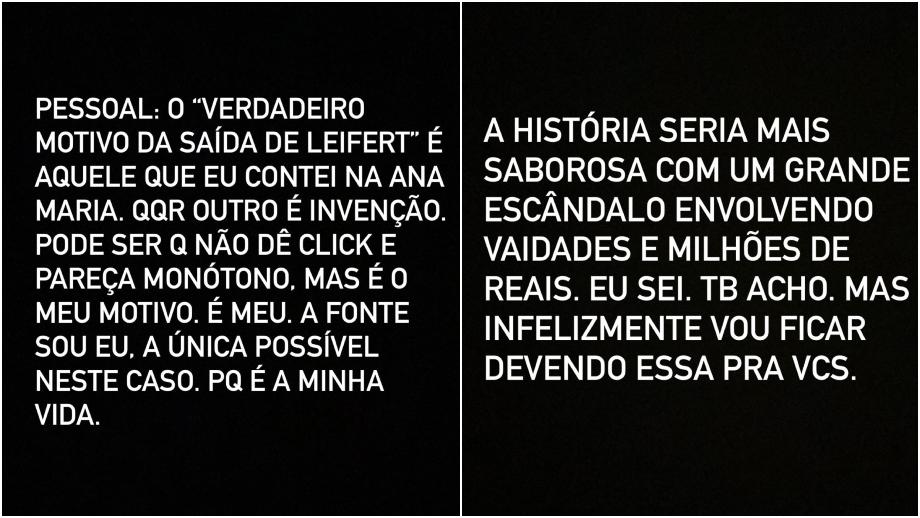 Tiago Leifert desmente fake news sobre sua saída da Globo - Foto: Reprodução/Instagram